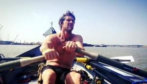 Jason McKinlay on the Thames