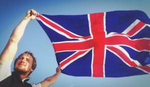 savoir Faire Josh and flag
