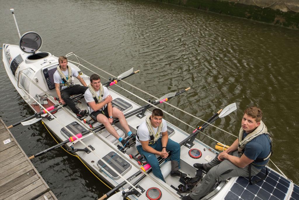 Team Exe Endurow at St Katherine's Dock