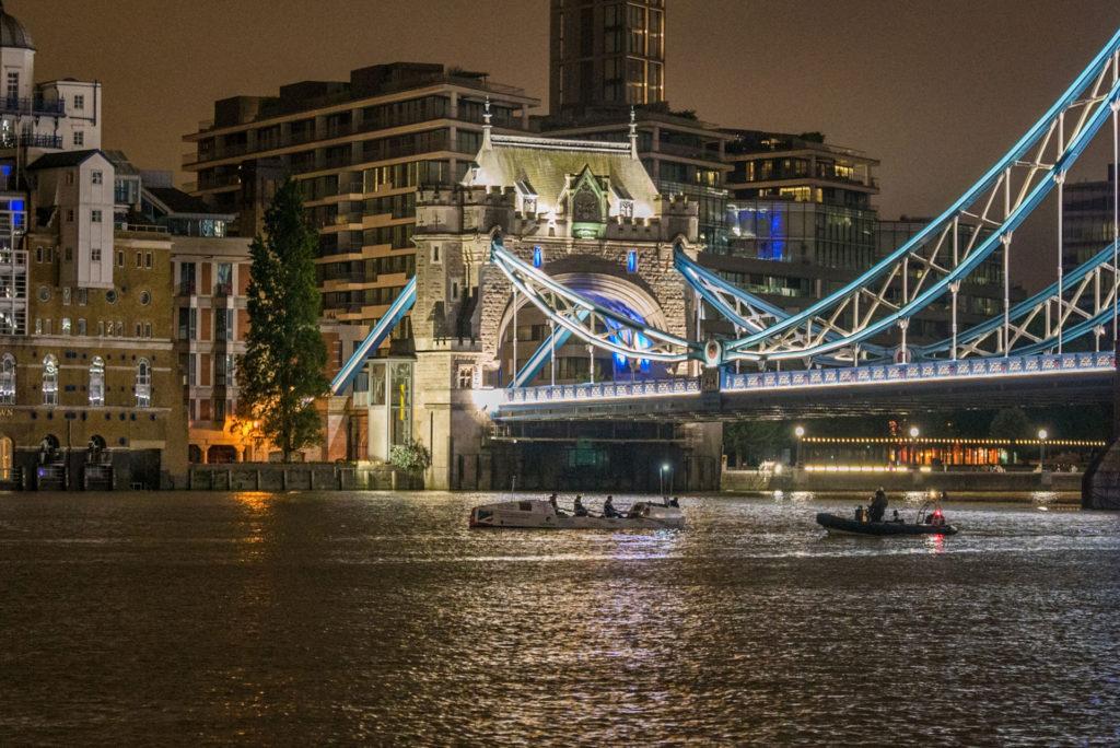 Race Start at Tower Bridge 02.30am July 5 2020
